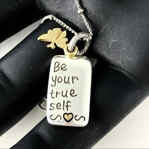 Brighton Necklace Be Your True Self Pendant Charm